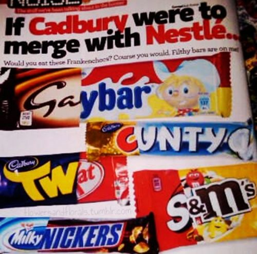 cadbury merges with nestle