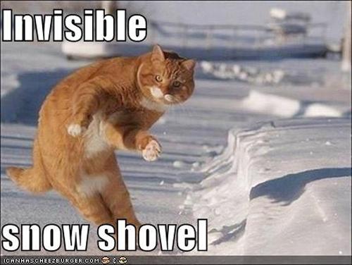 invisible snow shovel