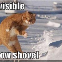 invisible snow shovel