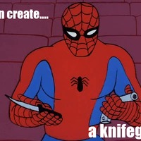 i can create a knifegun
