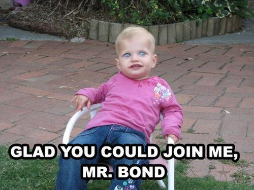 glad you could join me, mr bond - pichars.org