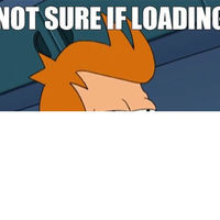 not sure if loading