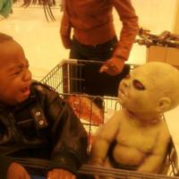 demon scare baby