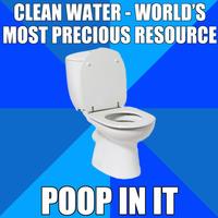 poop in it