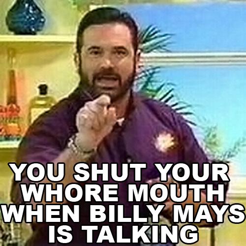 billy mays is talking