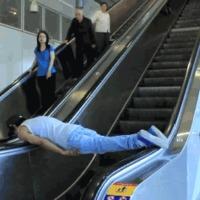 escalator plank