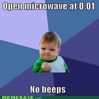no beeps