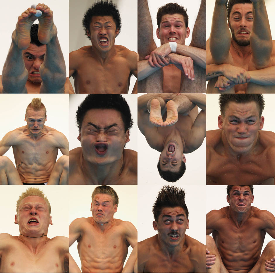 diving faces - pichars.org
