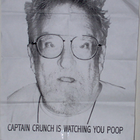 CAPTAIN CRUNCH IS WATCHING YOU POOP