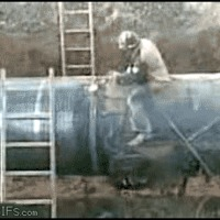 pipe cutting fail
