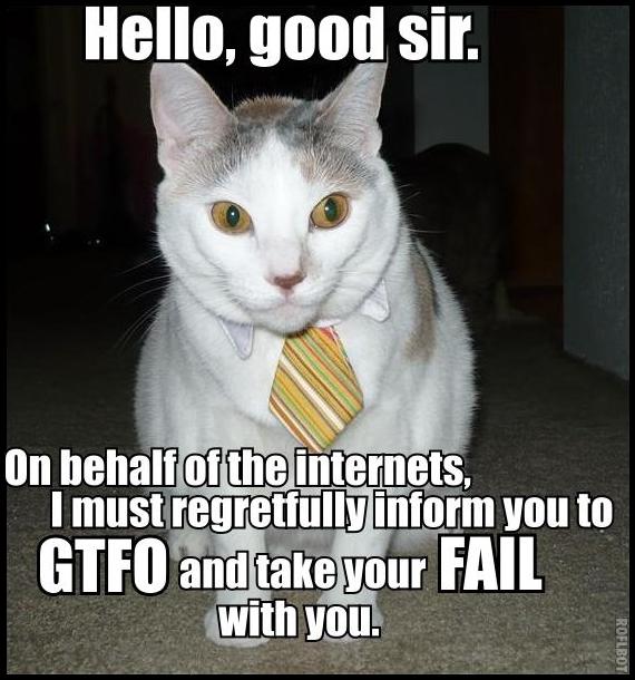 fail administration cat