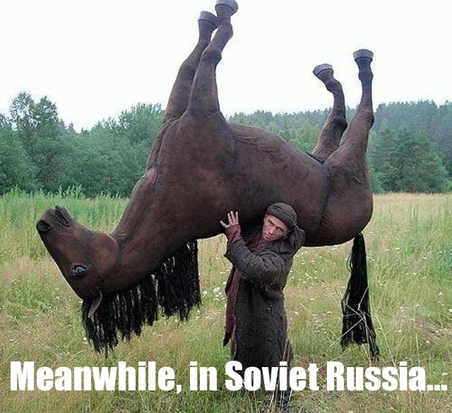 meanwhile, in soviet russia