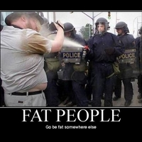fat people spray