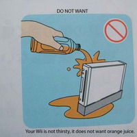your wii is not thirsty