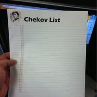 chekov list