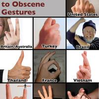 obscene gestures guide