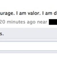 i am brave, i am bold, i am holding a thesaurus