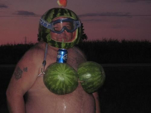 watermelon bra
