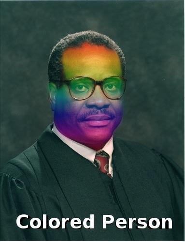 colored person