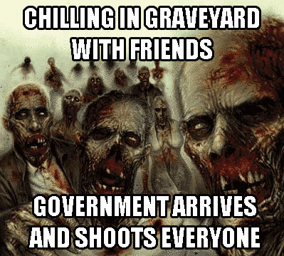 chilling in graveyard and get shot by government - pichars.org