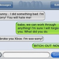 girlfriend breaks xbox