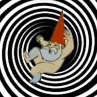 Gnome in Blackhole