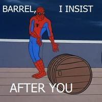 no barrel after you