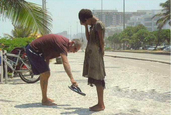 be thankful for the things that you have