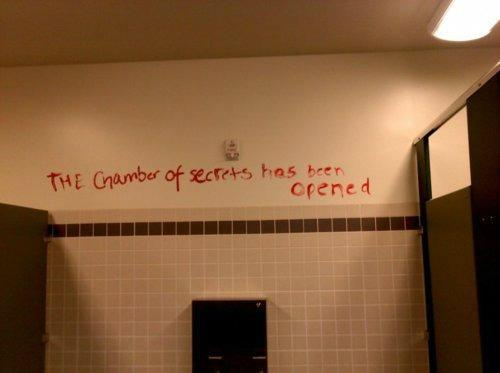 the chamber of secrets has been opened