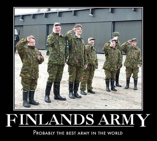 finlands army