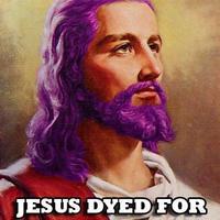jesus dyed