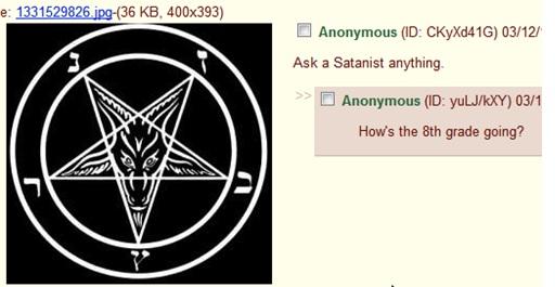 AMA - Satanist