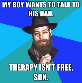 Son, therapy isn