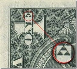 triforce in dollar