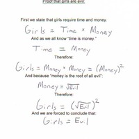 girls equation