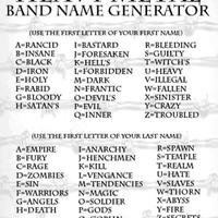 heavy metal band name genrator