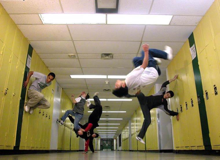 parkour school