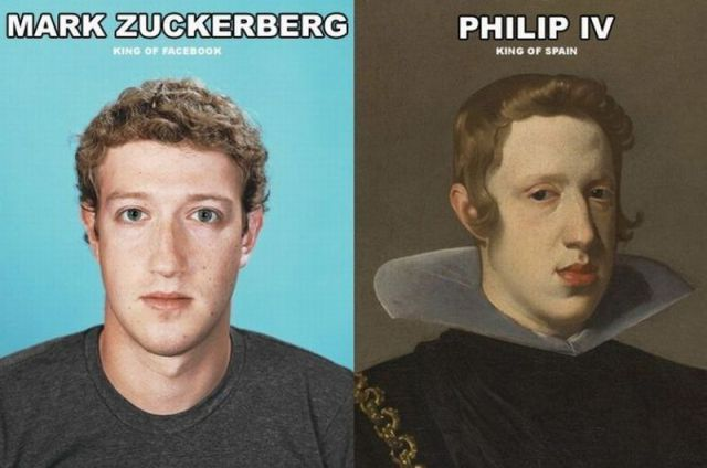 mark zuckerberg vs king of spain