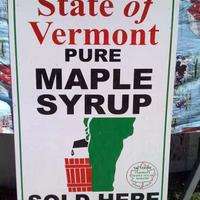 maple syrup made here