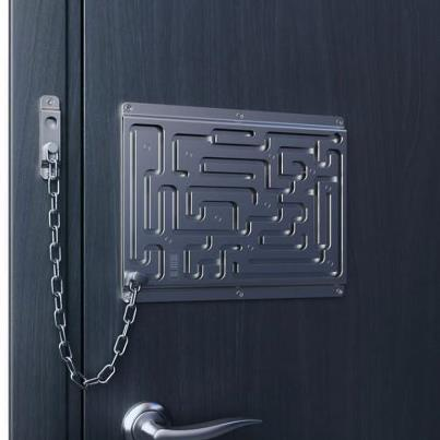 Anti-drunk door lock