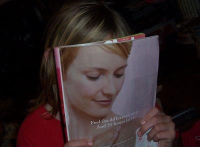 magazine face picture