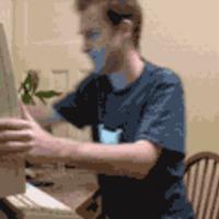 smack through computer