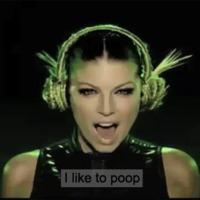 i like to poop