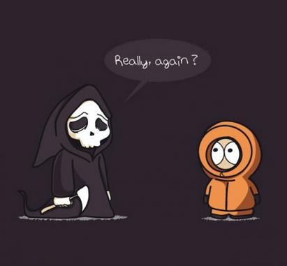Damn Kenny! Again?!??