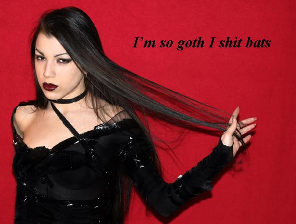 so fucking goth