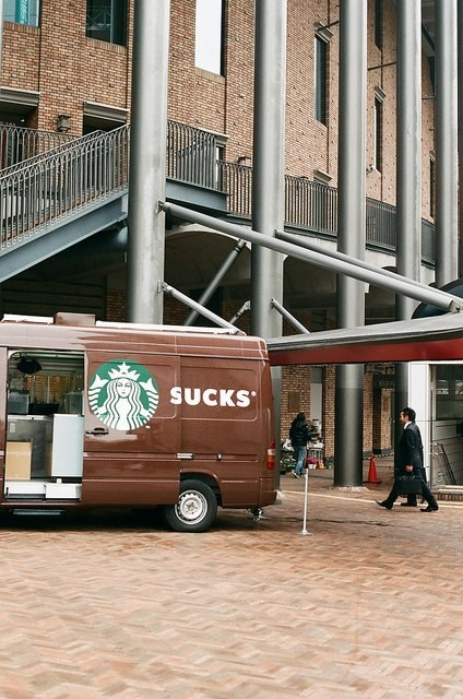Starbucks sucks