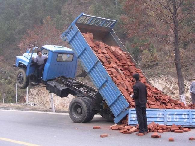 brick truck fail