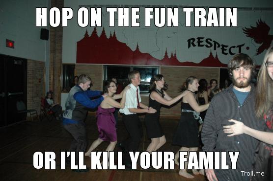 hop on the fun train